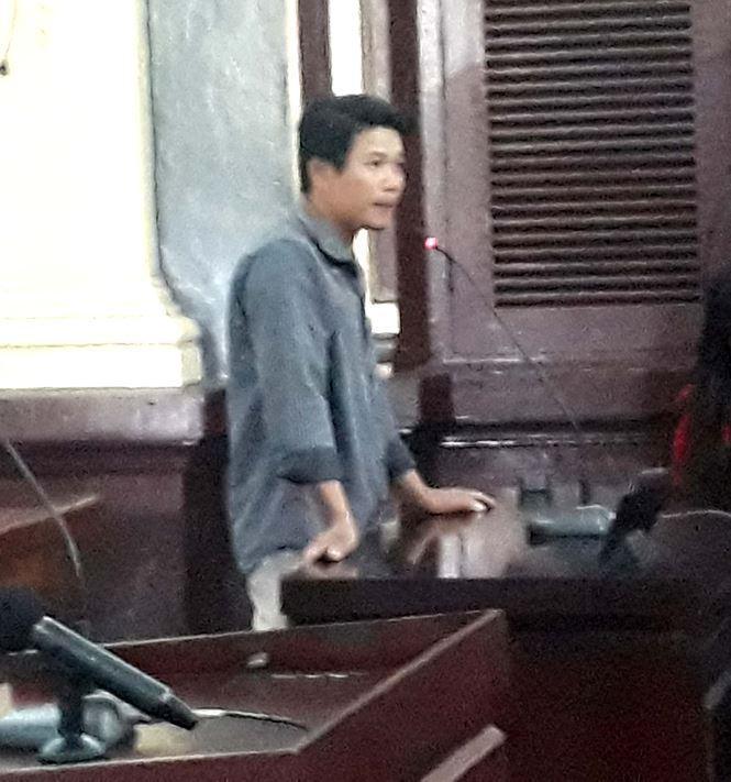 Anh Mai Văn Căn khẳng định chưa bao giờ nghe nạn nhân la mắng Tính. Ảnh: Tân Châu