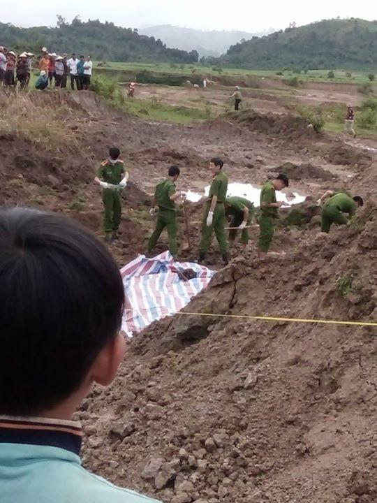 Khu vực Y Nơn chôn xác vợ
