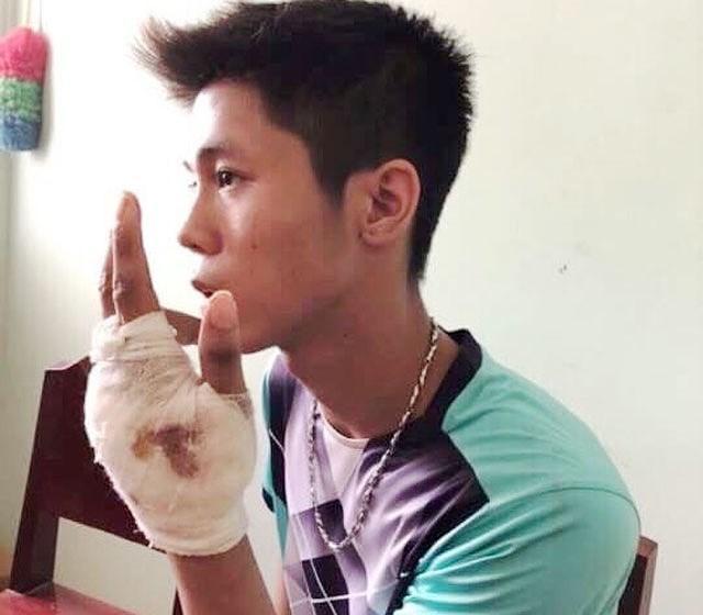 Bị can Nguyễn Hữu Tình tại cơ quan điều tra.