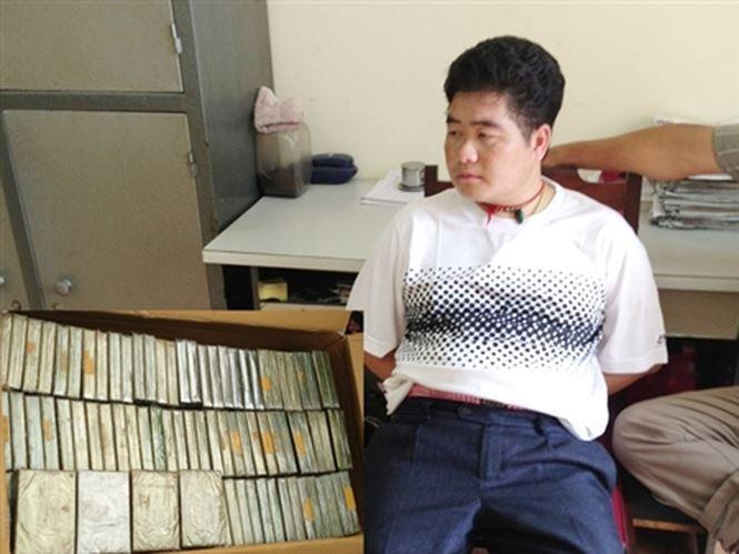 Tàng Keangnam thời điểm bị bắt.