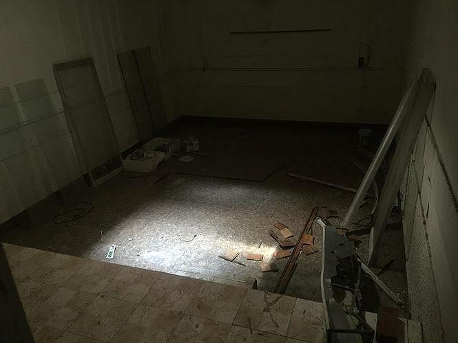 Bên trong hầm trú ẩn của trùm ma túy Nguyễn Văn Thuận.
