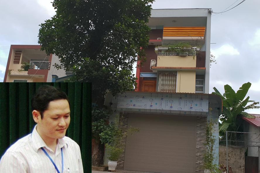 Ngôi nhà 3 tầng của gia đình ông Vũ Trọng Lương. Ảnh: HN