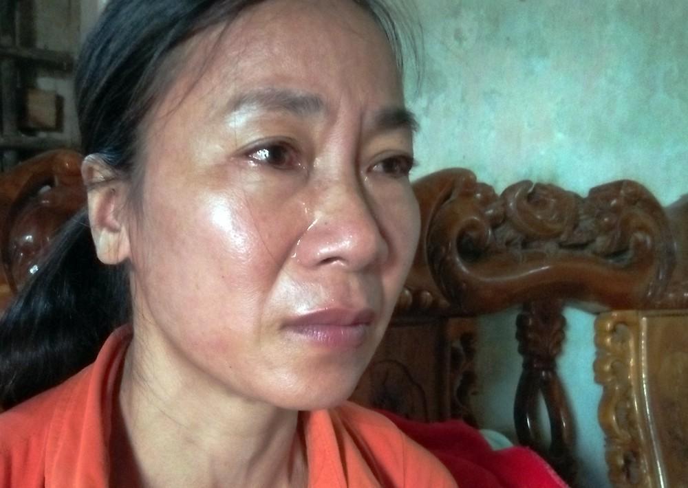 Bà Vân đau đớn nhắc đến cái chết của con gái mình.