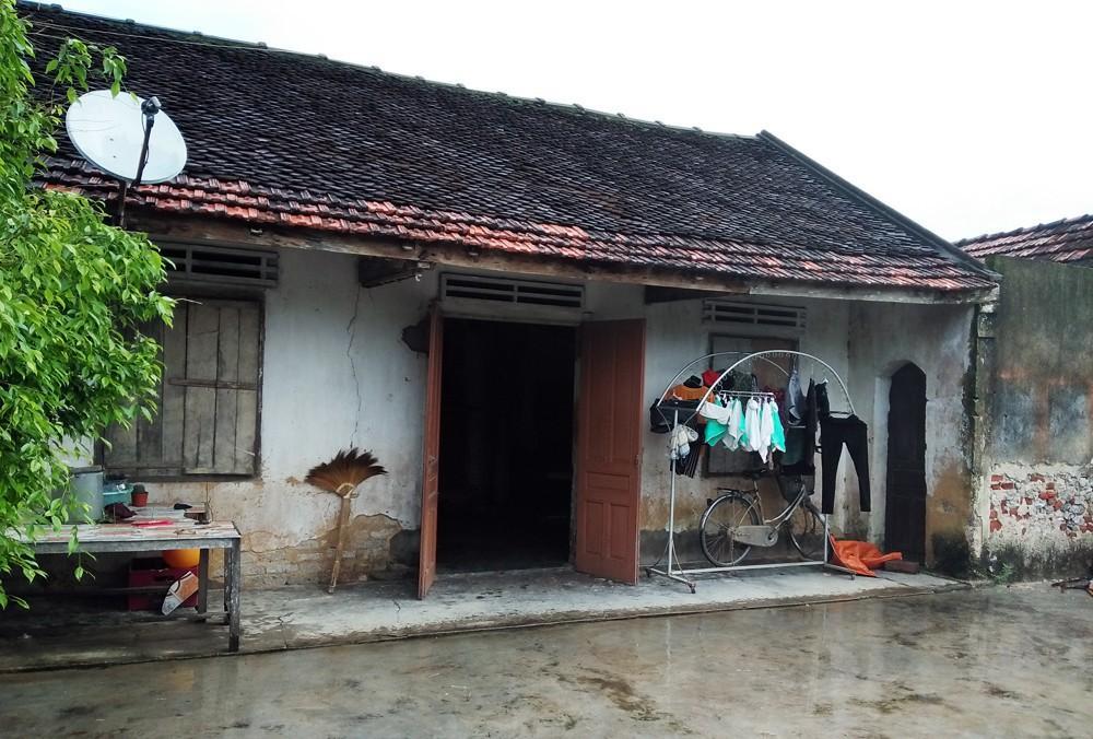 Căn nhà của mẹ con bà Vân.