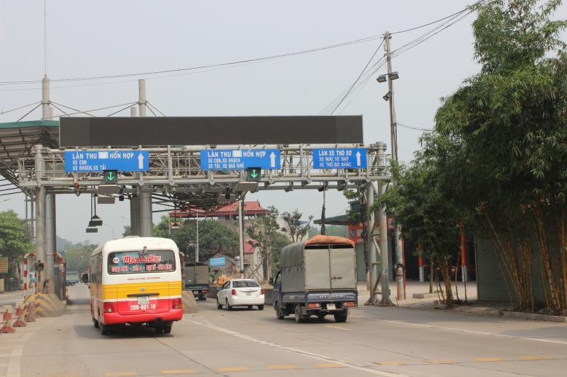 Trạm thu phí BOT Thái Nguyên - Chợ Mới đặt tại Km 77+922 QL3 cũ vẫn chưa được đưa vào hoạt động sau hơn 1 năm dự án được nghiệm thu hoàn thành