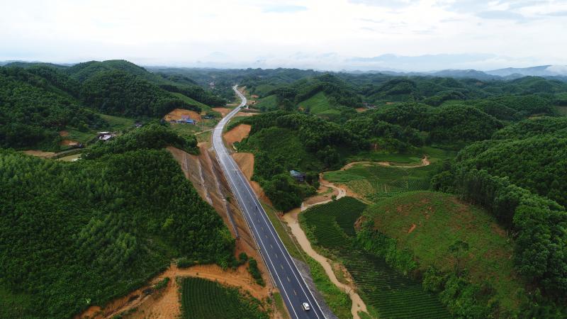 Trước đây dự án Chợ Mới - Bắc Kạn  được nghiên cứu nhằm kết nối với tuyến đường Thái Nguyên - Chợ Mới (được đưa vào khai thác từ cuối tháng 12/2016)