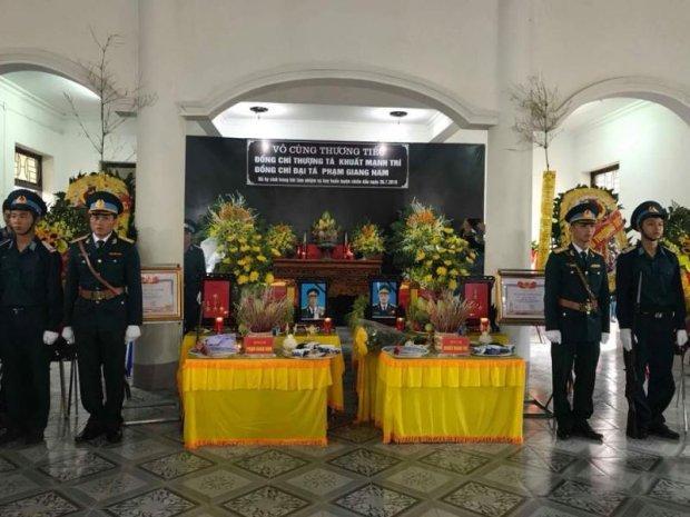 Thượng Tá Khuất Mạnh Trí và Đại tá Phạm Giang Nam đã hi sinh trong khi làm nhiệm vụ bay huấn luyện chiến đấu ngày 26/7.