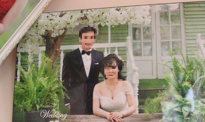 Ảnh cưới của cô dâu chú rể
