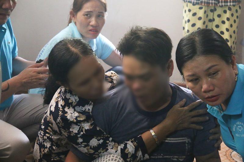 Anh Thu - anh trai chú rể khóc ngất khi cùng một lúc mất đi 4 người thân yêu.