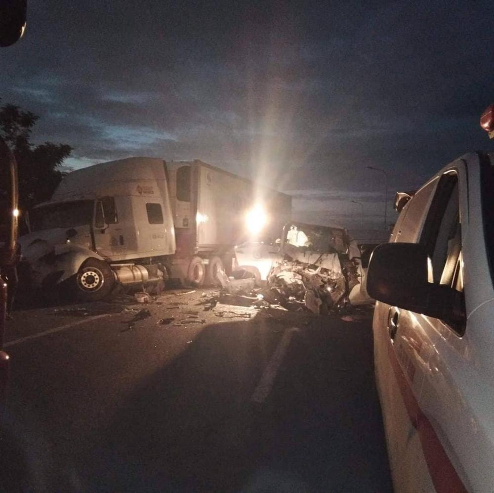 Hiện trường vụ tai nạn khiến người xem ám ảnh.