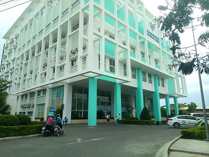 Bệnh viện Đa khoa Tâm Trí Nha Trang, nơi xảy ra vụ nam điều dưỡng hiếp dâm nữ bệnh nhân. (Ảnh: Báo Giao Thông).