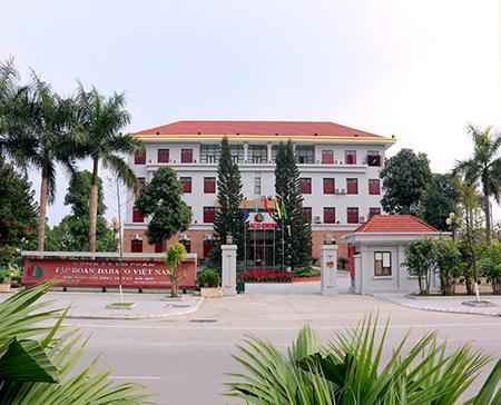 Trụ sở Công ty CP Tập đoàn DABACO ở Bắc Ninh.