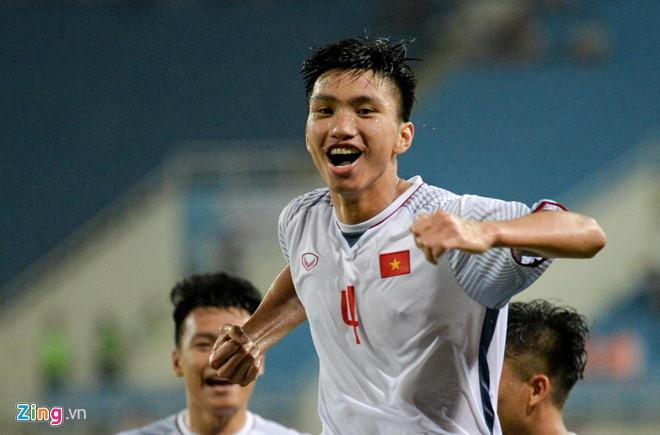 Bàn thắng của Văn Hậu đã đem về chức vô địch sớm cho Olympic Việt Nam ở giải giao hữu quốc tế