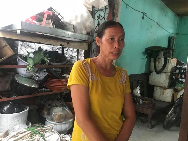 Bà Thành đau đớn kể lại sự việc sau cái chết của con trai.
