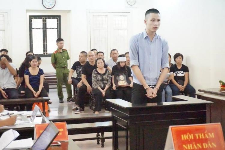 Với tội ác gây ra, Tùng phải nhận bản án tử hình.