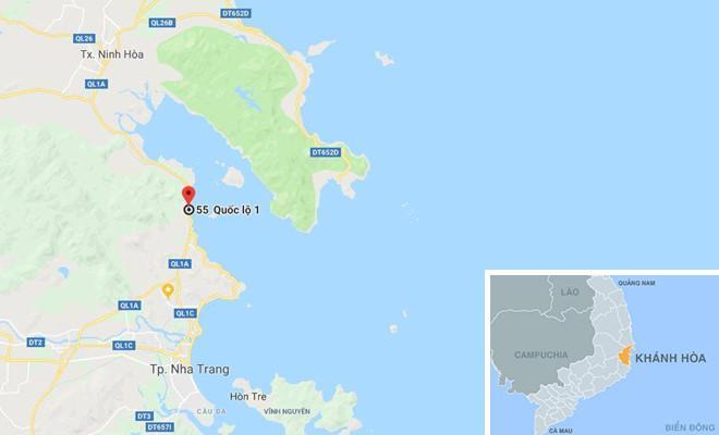 Xã Vĩnh Lương, TP Nha Trang, Khánh Hòa. Ảnh: Google Maps.