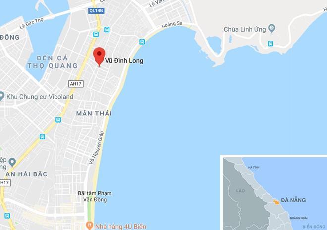 Đường Vũ Đình Long - nơi Hời thuê khách sạn ở. Ảnh: Google Maps.