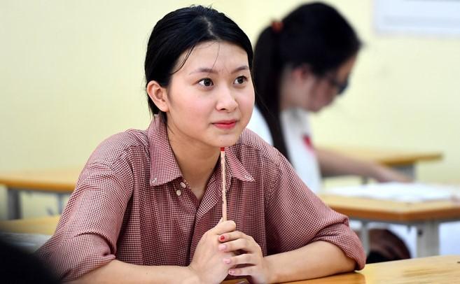 Thí sinh dự thi THPT quốc gia.