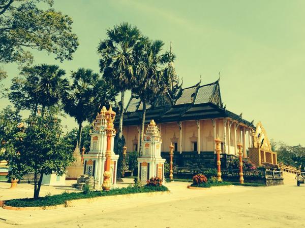 Chùa Xiêm Cán - Địa điểm du lịch đặc sắc ở Bạc Liêu. (Nguồn: ngothieuphong)
