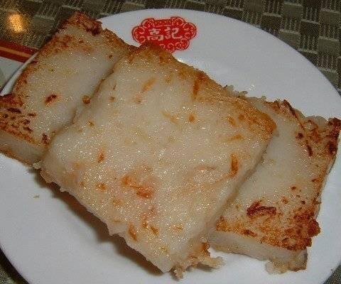 Bánh củ cải – Đặc sản ẩm thực du lịch Bạc Liêu. (Nguồn: ivivu.com)