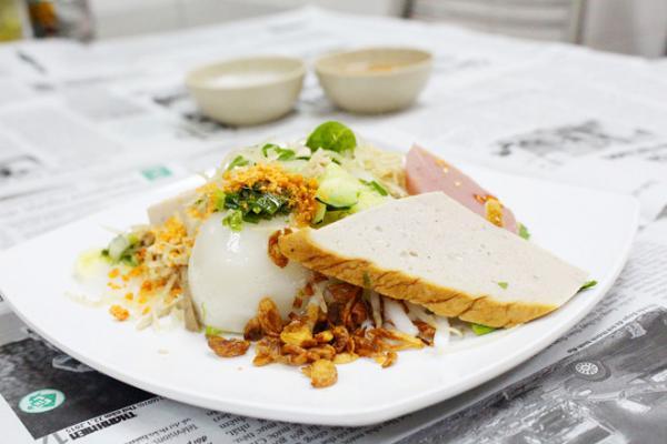 Bánh tằm bì là loại bánh quen thuộc ở các tỉnh miền Tây nhưng đối với Bạc Liêu bánh tằm bì ngon nổi bật. (Nguồn: zing.vn)