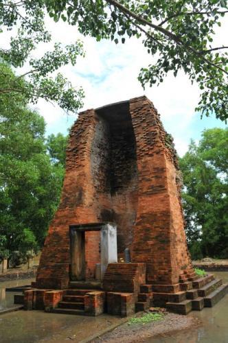 Tháp cổ Vĩnh Hưng ở Bạc Liêu. (Nguồn: Minh Đức)