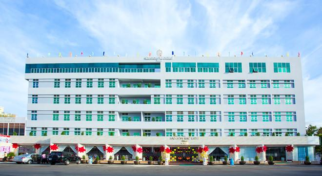 Khách sạn Sài Gòn Bạc Liêu nằm ngay giữa trung tâm thành phố.
