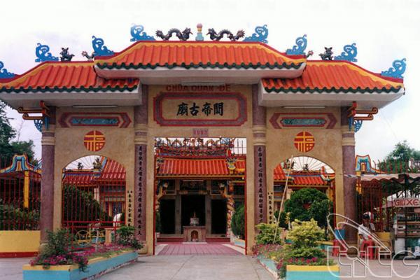 Chùa thờ Quan Vân Trường thời Tam Quốc