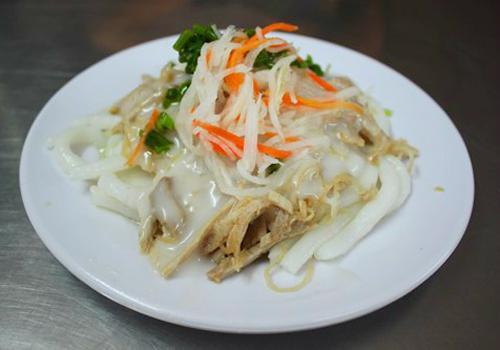 Sự kết hợp nhiều nguyên liệu với nhau đem đến hương vị thơm ngon và lạ miệng cho người ăn. Ảnh: Khánh Hòa.