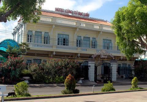 Khách sạn Công tử Bạc Liêu, nơi trước đây là nhà ở của gia đình hội đồng Trạch