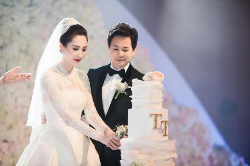 Đặng Thu Thảo xinh đẹp ngọt ngào trong bộ váy cưới - Ảnh: Internet