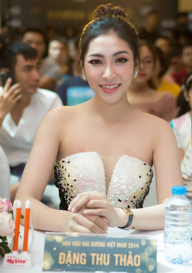 Vẻ đẹp ngày càng lên hương của Hoa hậu Đại dương 2014 - Ảnh: Internet