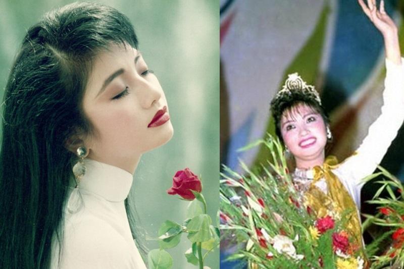 Hoa hậu Lý Thu Thảo được coi là một trong những mỹ nhân đình đám nhất thời bấy giờ - Ảnh: Internet