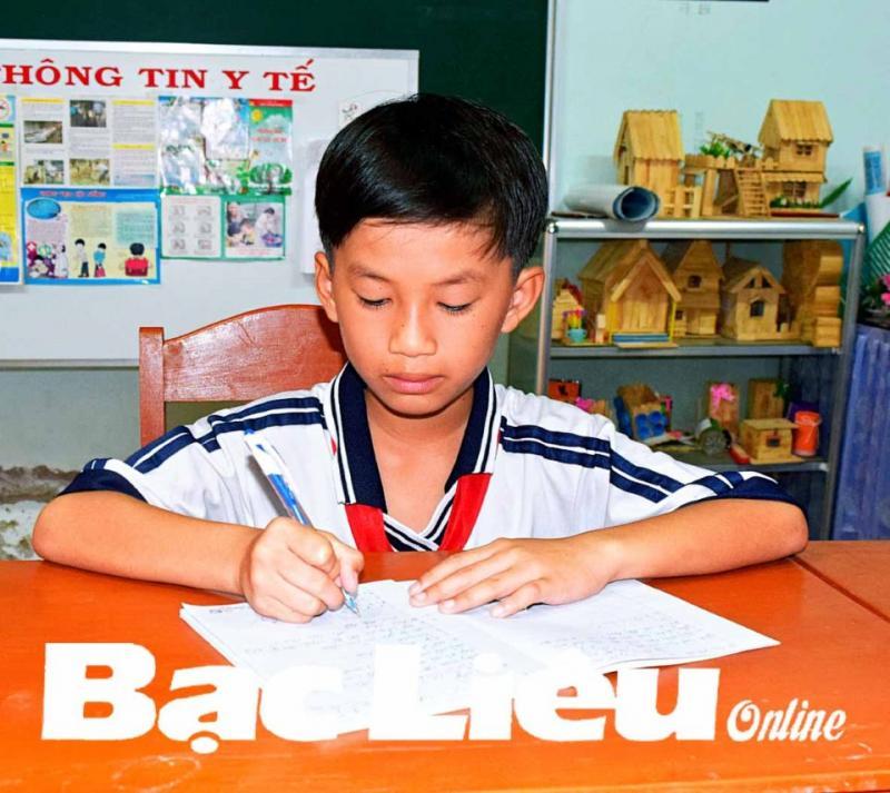 Em Nguyễn Vũ Khanh. Ảnh: T.Q