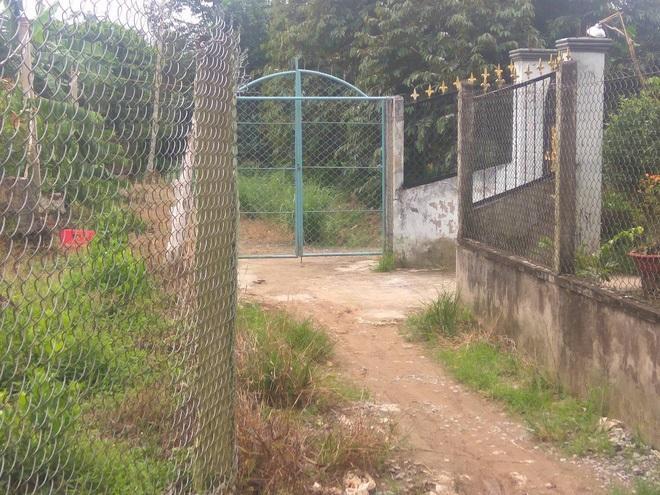 Nửa tháng qua, căn nhà của bà Xa luôn đóng kín cổng - Ảnh: Internet