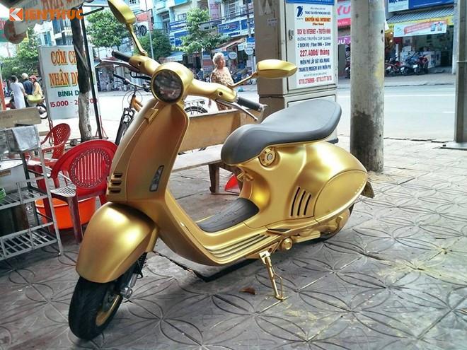 Chiếc xe máy tay ga