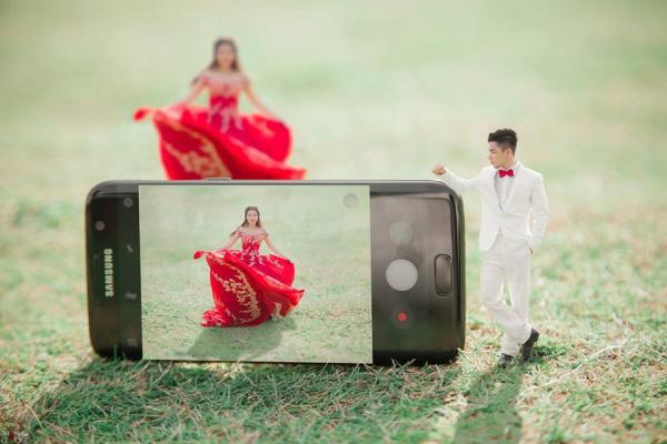 Bộ ảnh cưới đáng yêu của cặp đôi Bạc Liêu- Vũng Tàu