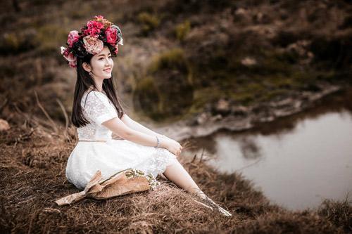 Cô gái Bạc Liêu sở hữu gương mặt xinh xắn, dễ thương. Nguồn Dân Việt