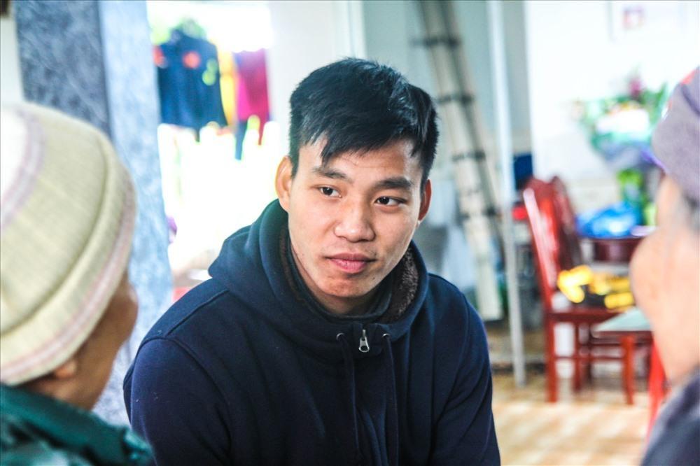 Vũ Văn Thanh tại quê nhà. Ảnh: Cường Ngô