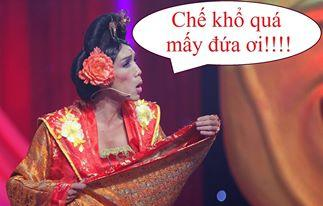 Thanh Vàng diễn những vai giả gái rất thành công (ảnh: Sinhviencantho.vn)
