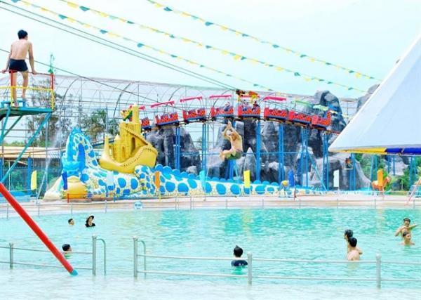 Đây là một khu vui chơi nhân tạo nổi tiếng ở Bạc Liêu. (Nguồn: Huynh Nhi Nhi)