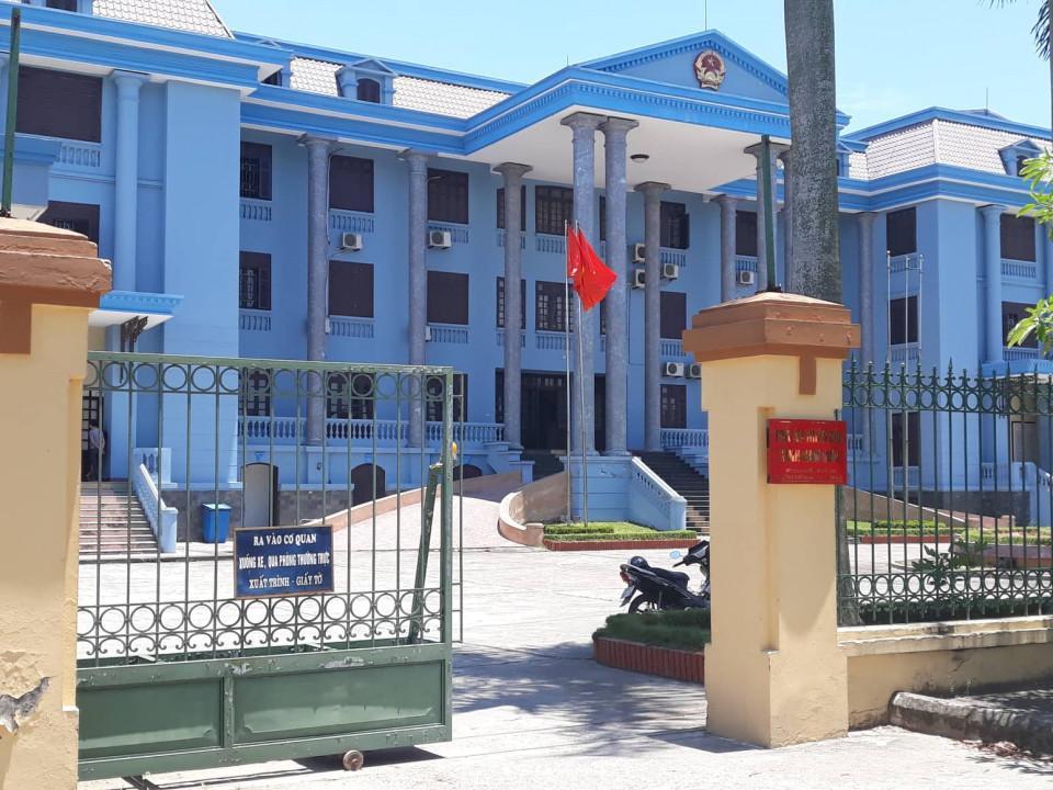Trụ sở TAND tỉnh Nam Định.