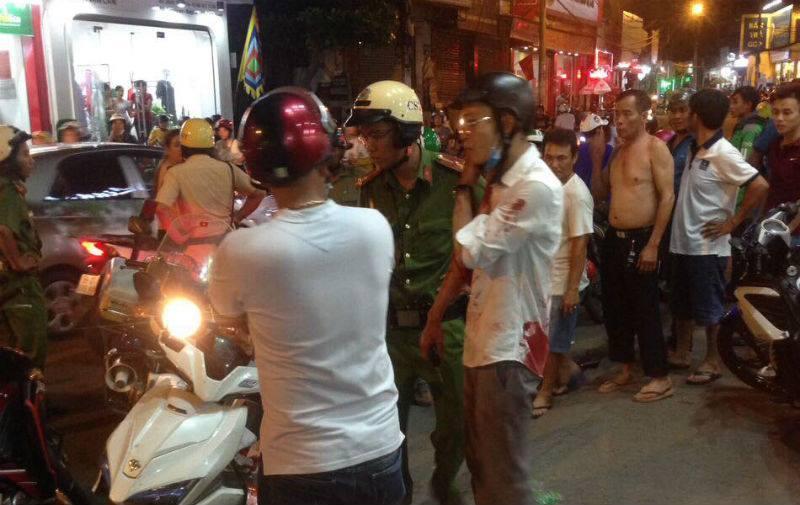 Hiện trường xảy ra sự việc. Nguồn ảnh: Vietnamnet