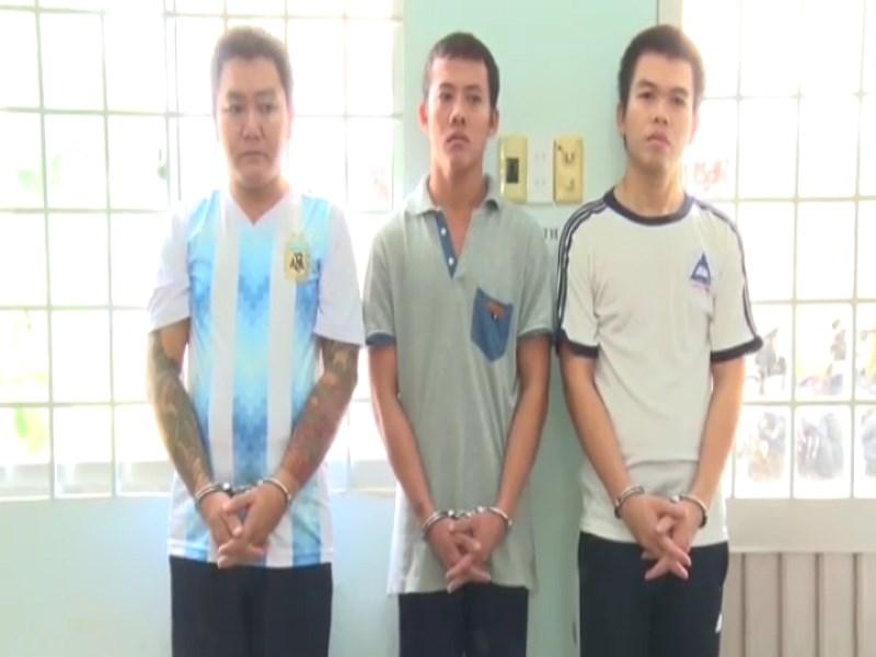3 trong số 5 người trong nhóm trộm xe liên tỉnh