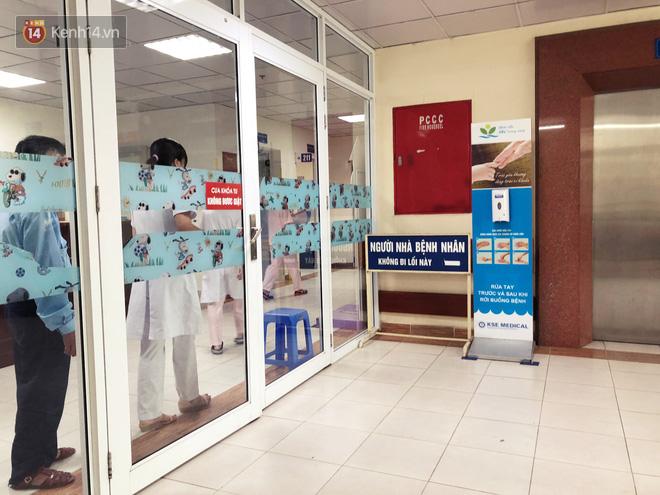 Khoa Truyền nhiễm - Bệnh viện Nhi Trung ương, nơi bé C. được điều trị.