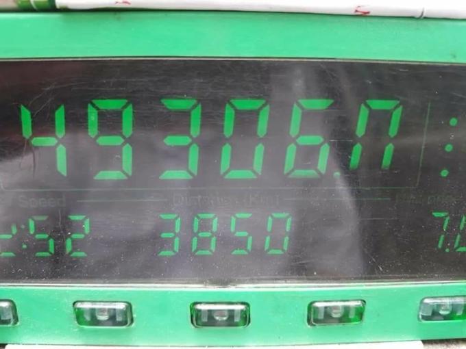 Đồng hồ tính cước với con số kỉ lục hơn 49 triệu đồng.