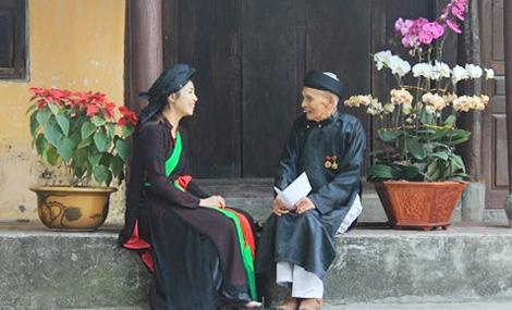 Hình ảnh người quan họ Bắc Ninh