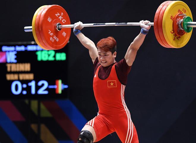 Đô cử Trịnh Văn Vinh giành HCV tại SEA Games 29.