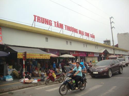 Chợ Giầu và phố chợ mới.