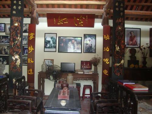 Nhà Lưu niệm nhà văn Kim Lân.
